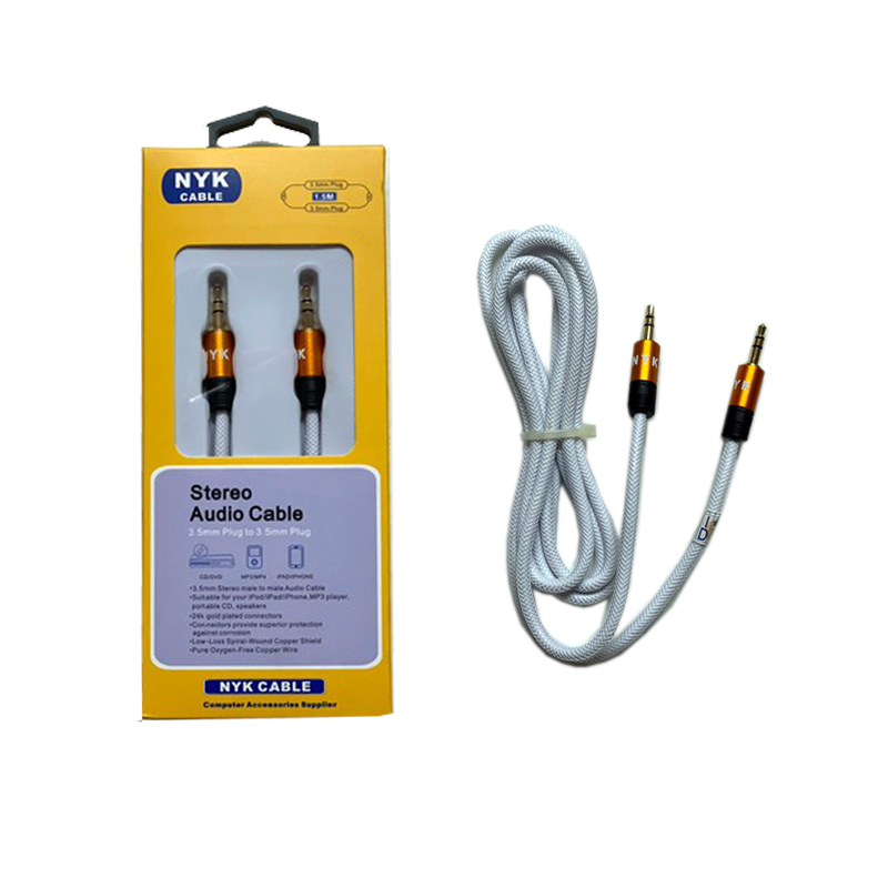 NYK CABLE JACK AUDIO 3.5 TO 3.5